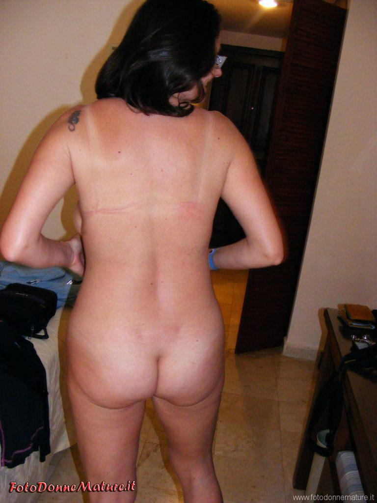 Mature nude: Casalinga mora naturale culo naturale a vista